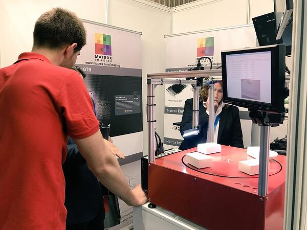 clearview machine vision conference 2018 demonstration