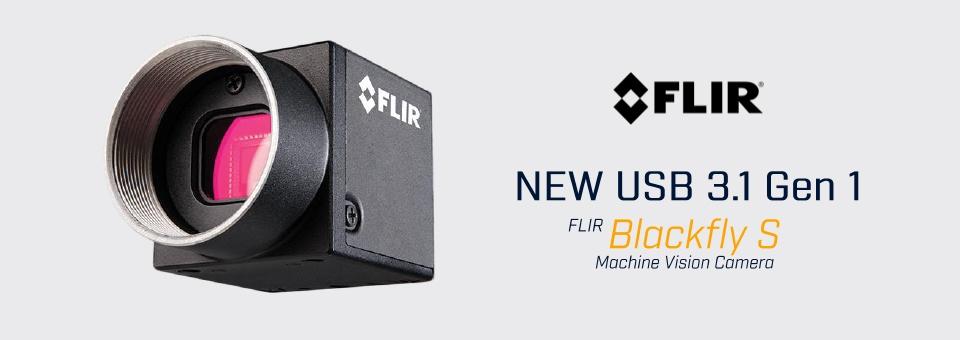 Product update: FLIR Blackfly S machine vision polarising